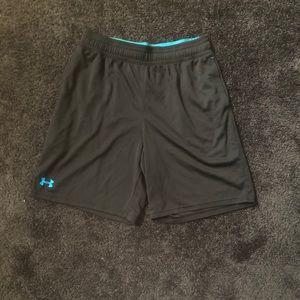 Large Black Under Armour Shorts